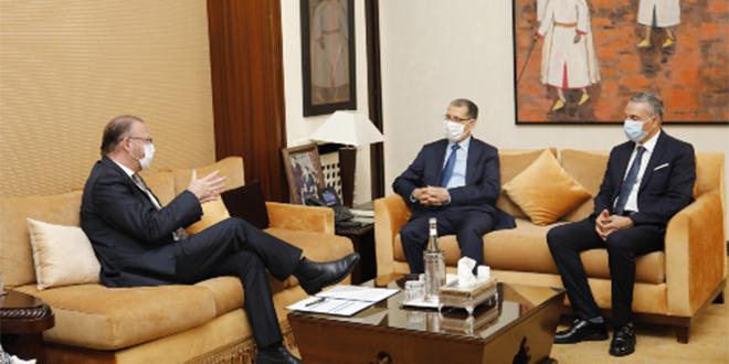 El Othmani reçoit le chef de l'APCE