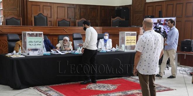 Élection des représentants des magistrats: Les résultats dévoilés