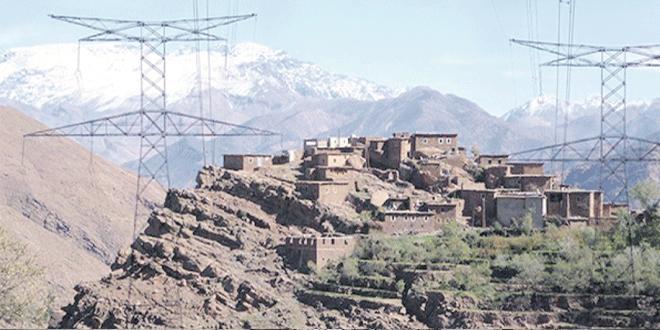Al Hoceima-Rural: Le taux d'électrification le plus élevés du pays