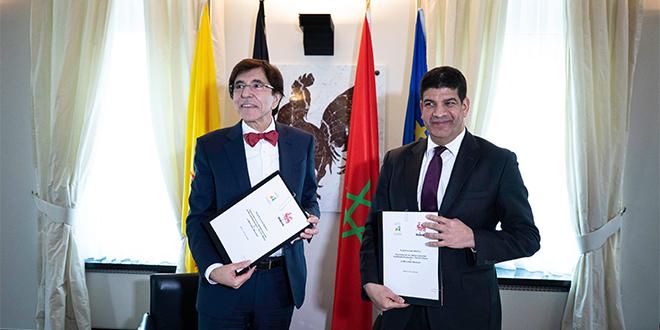 Casa-Settat consolide sa coopération avec la Wallonie