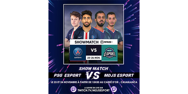e-Sport: La team MDJS à l'assaut du PSG
