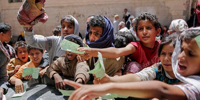 La famine menace au Yémen