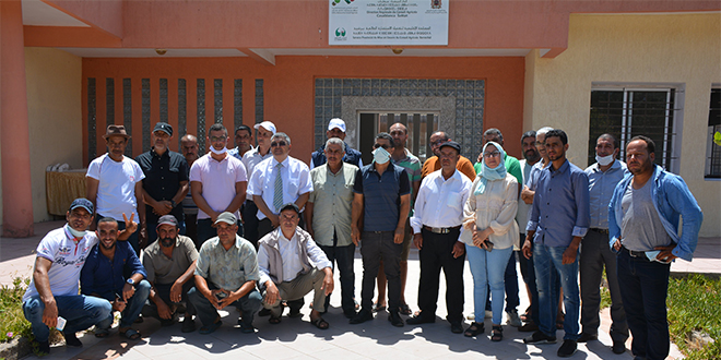 Agriculture: L'IAV et la FAO forment les producteurs