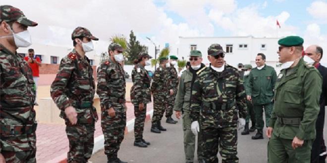 La médecine militaire débarque à Tanger