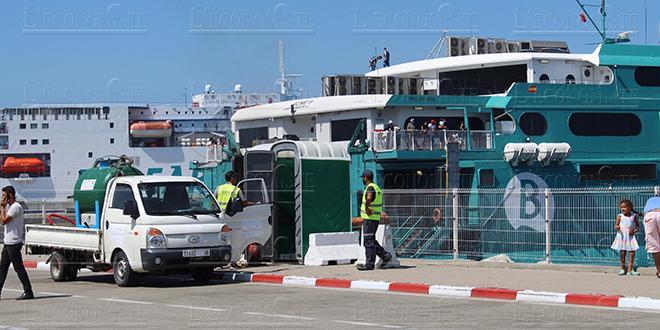 Marhaba : Un ferry hors de service