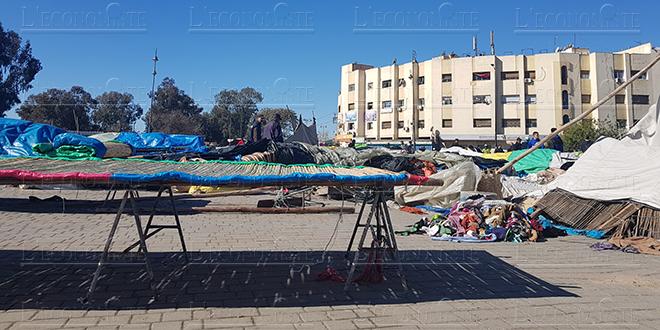 Fès: Les marchands ambulants délogés par la force