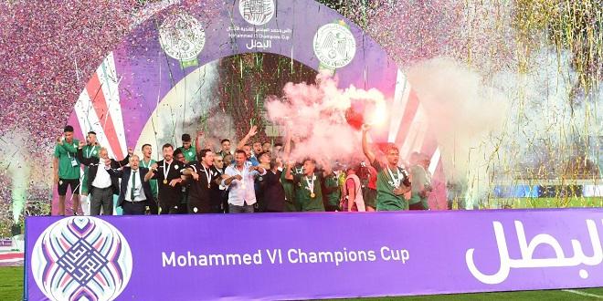 Coupe Mohammed VI: Le Raja reçoit les félicitations royales