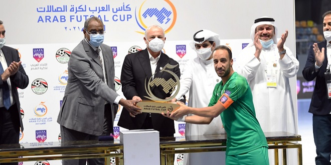 Futsal: Le Maroc gagne la Coupe arabe