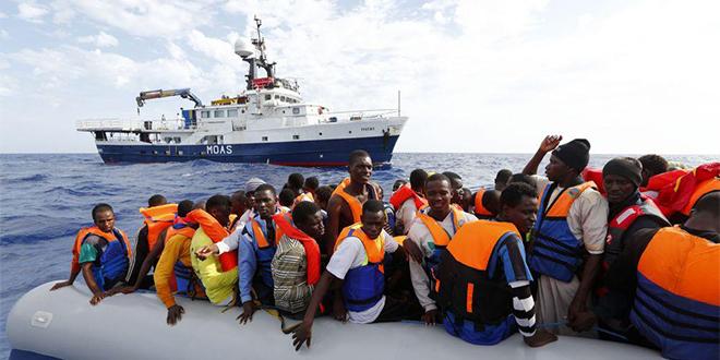 Migrants: Les entrées en Europe baissent de 30%