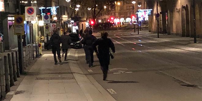 Fusillade à Strasbourg: un mort et six blessés sur le marché de Noël