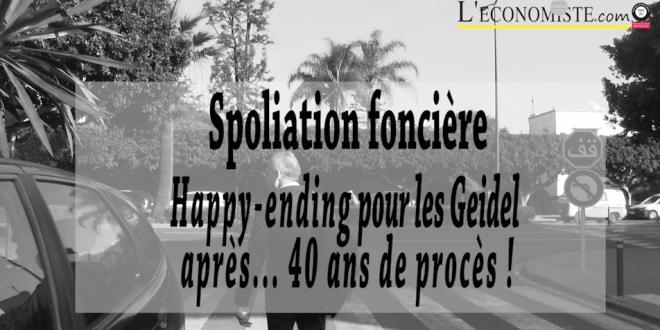 VIDEO-Spoliation foncière: Happy-ending pour les Geidel après... 40 ans de procès !