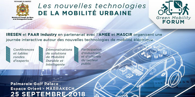 "Le ""Green Mobility Forum"" à Marrakech"