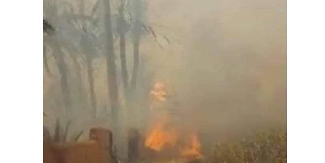 Guelmim: Un incendie décime l'oasis de Tighmert
