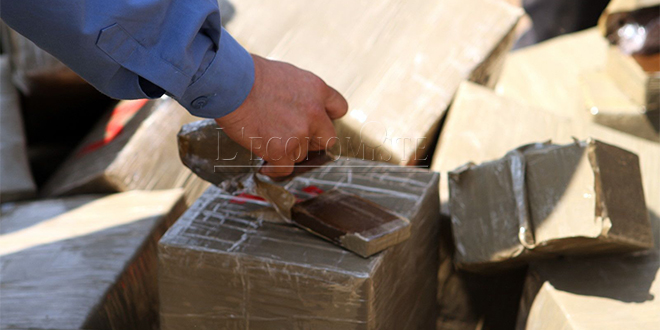 Grosse saisie de drogue à Agadir