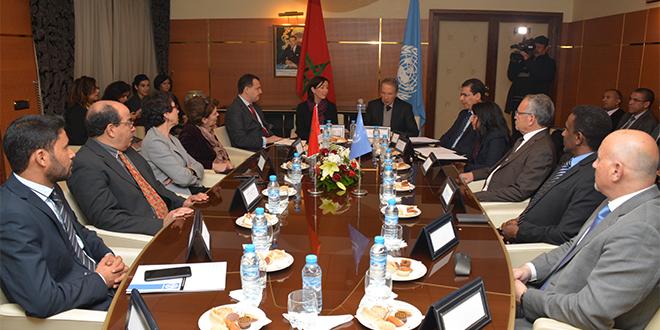 Suivi des ODD : Le HCP et les agences de l'ONU coopèrent