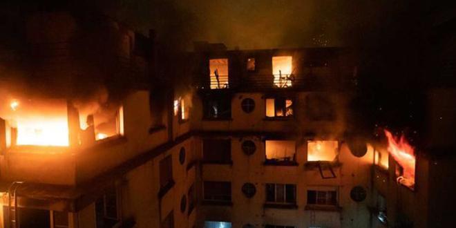 Paris : plusieurs morts dans un violent incendie