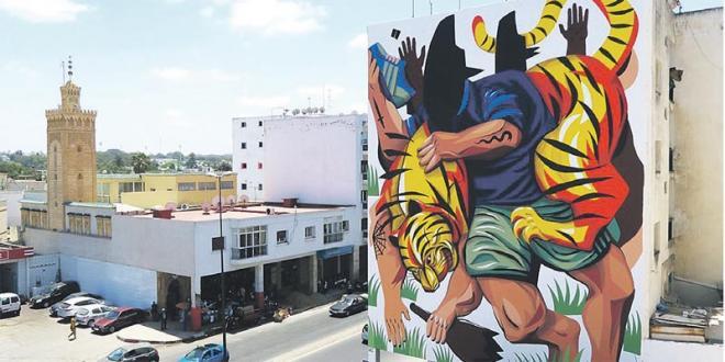 Oujda: L'ancienne médina s'orne de fresques murales géantes
