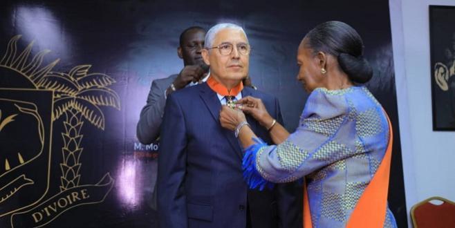 Le PDG d'AWB distingué en Côte d'Ivoire