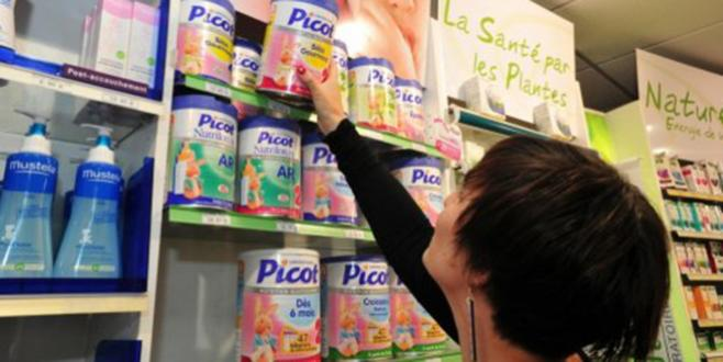 Lait infantile contaminé: suspension de la commercialisation du lait « Picot »