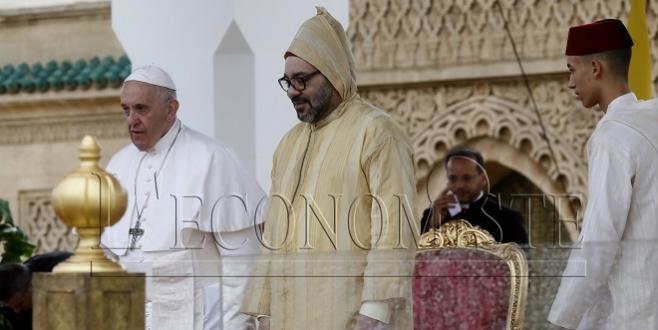 Le Roi et le Pape appellent à conserver le statut d'Al Qods