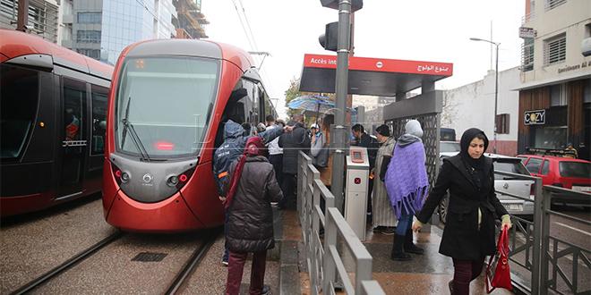 Tramway de Casablanca : 9 stations fermées pendant 2 semaines
