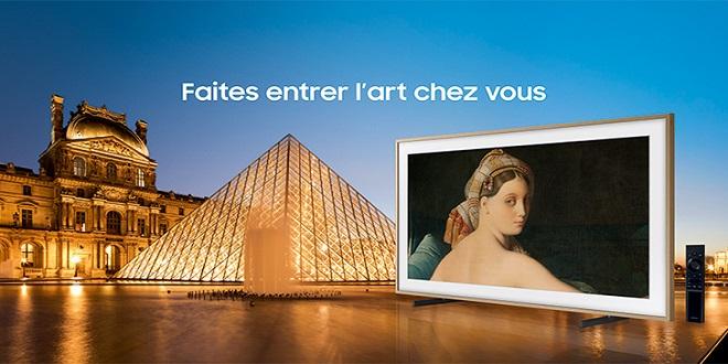 Samsung signe un partenariat avec le Louvre