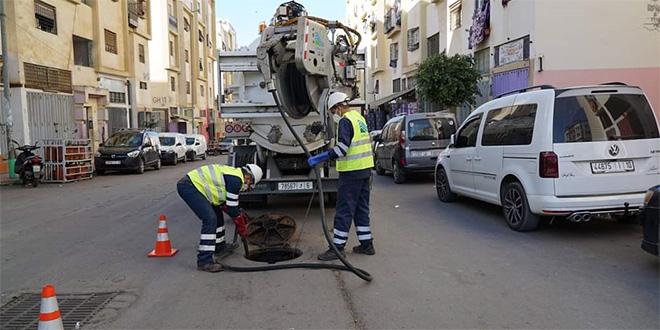 Fortes pluies attendues à Casablanca: Lydec mobilise son dispositif