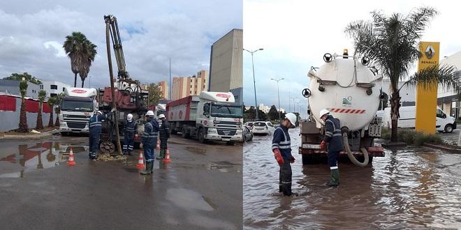 Casablanca: Le dispositif de Lydec pour gérer les fortes pluies
