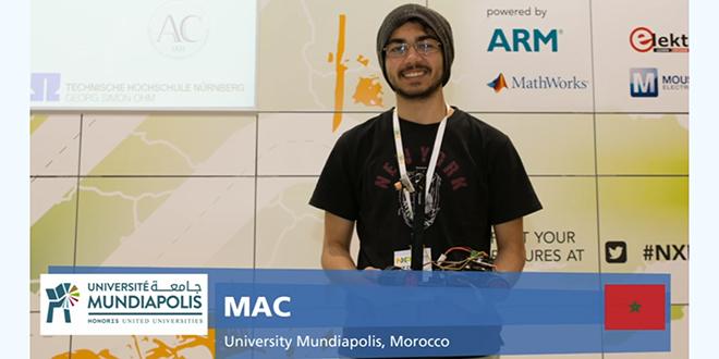 DIAPO-Le Maroc monte sur le podium de la NXP Cup - EMEA