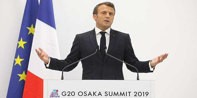 Macron ira en Chine en novembre
