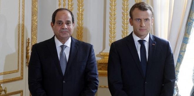 Macron chez Sissi