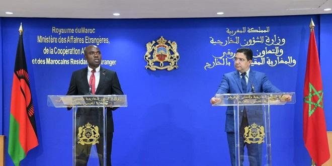 Le Malawi ouvrira une ambassade à Rabat et un consulat à Laâyoune