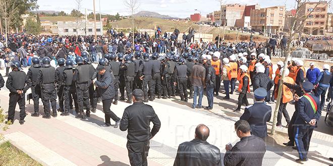 """Jerada : HRW dénonce un recours à une force """"excessive"""""""
