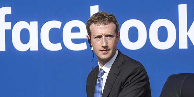 Mark Zuckerberg fier