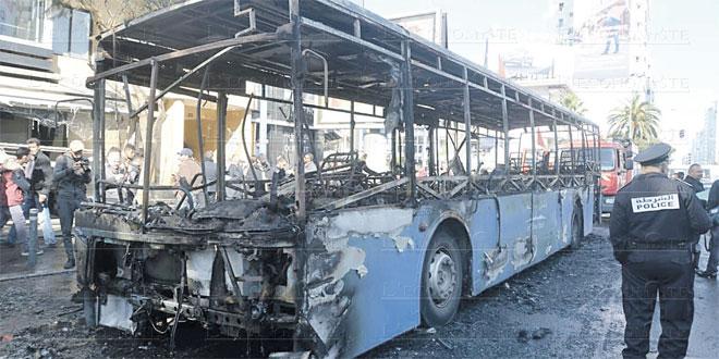 Casablanca: Un incendie endommage plusieurs bus