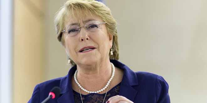 ONU : Michelle Bachelet nommée aux droits de l'Homme