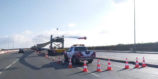 Parc éolien de Midelt: Siemens Gamesa livre ses pales