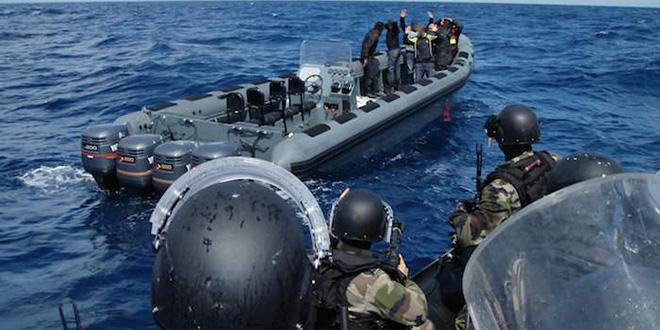 La Marine royale fait échouer une tentative de trafic de drogue