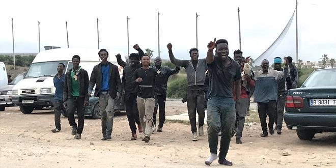 Melilia : Plus de 50 migrants franchissent la clôture