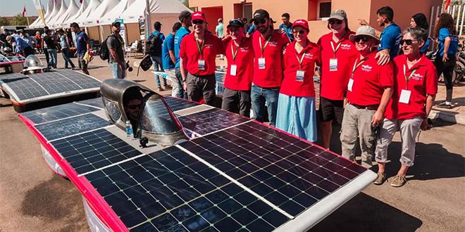 Moroccan Solar Race Challenge: L'EMI termine 4e