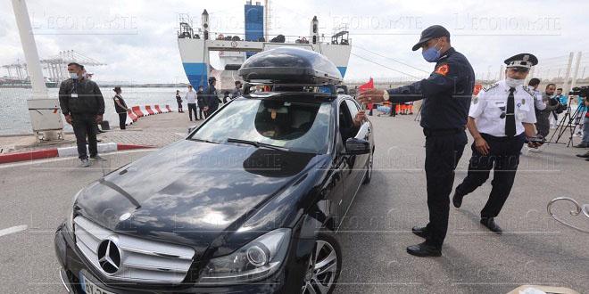 Tanger Med: Arrivée du premier ferry de MRE