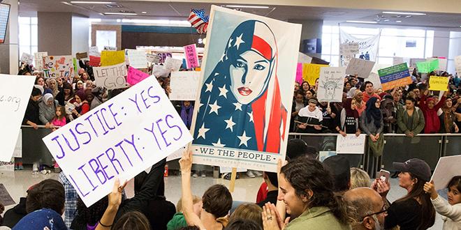 """""""Muslim ban"""" : Le décret entre en vigueur"""
