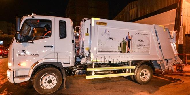 DIAPO/ Le nouveau matériel de la propreté déployé à Casablanca