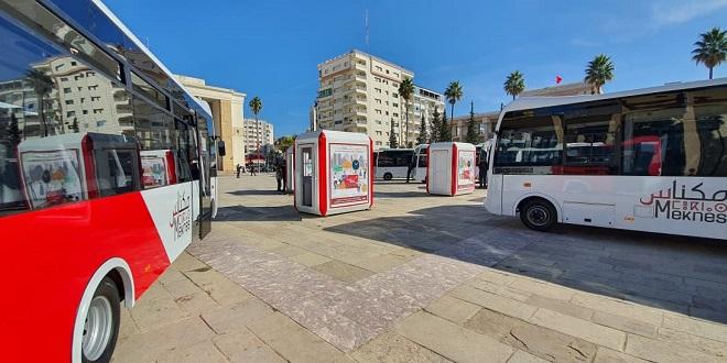 Transport urbain: Citybus poursuit le renouvellement de sa flotte à Meknès