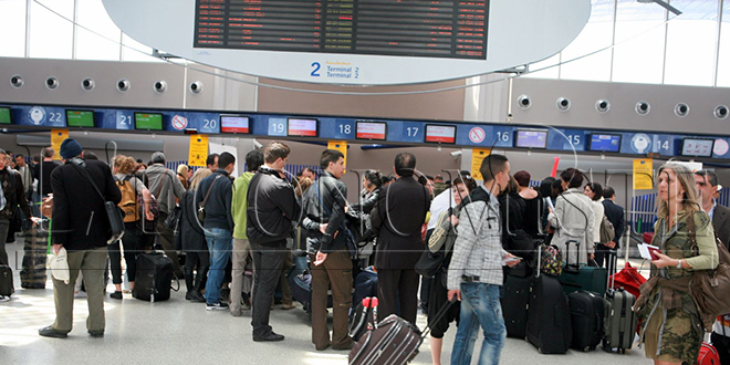 Aéroports: Le trafic passagers hausse de 7,9% en janvier