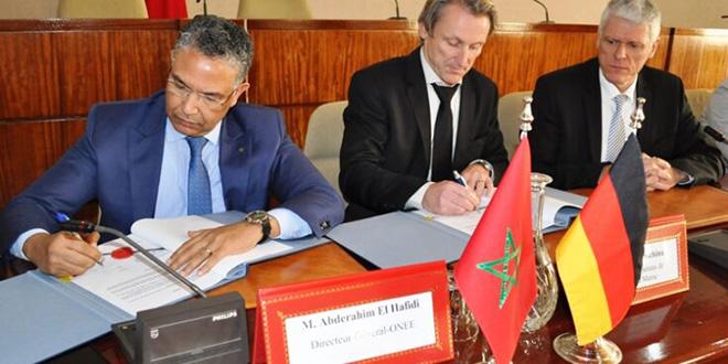 L'ONEE et la KfW signent des contrats de financement