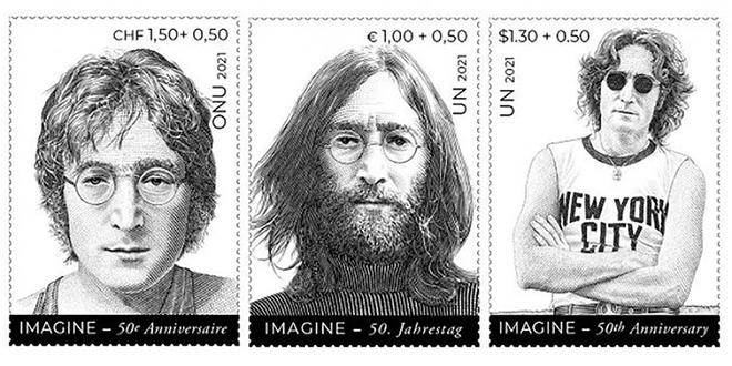 AG de l'ONU: Des timbres à l'effigie de John Lennon
