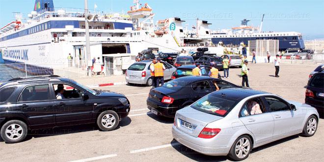 Nador: Arrivée d'un premier navire de Sète