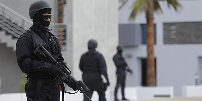Cellule terroriste démantelée: Un ex-détenu pour terrorisme arrêté