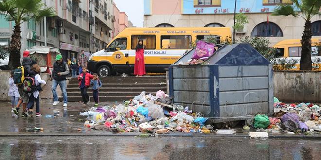 Casablanca/déchets : Retour au scénario 2014?